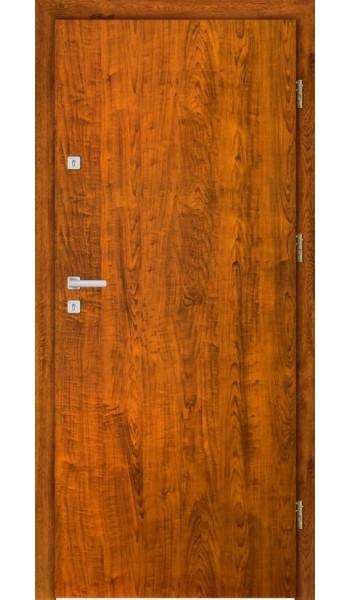 Admar Gładkie drzwi wejściowe wzmocnione